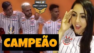 CORINTHIANS AMASSA NA FINAL | Free Fire Pro League Season 3 - LEVEL UP , NOBRU , JAPA E FIXA - BDL