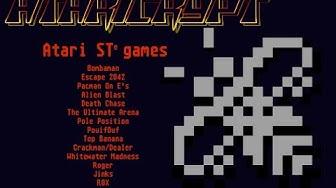 ATARI STe games [part one]