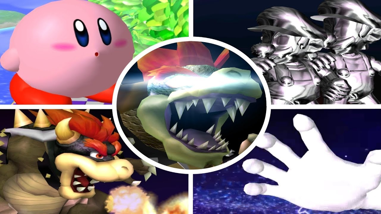Super Smash Bros Melee - All Bosses (No Damage)