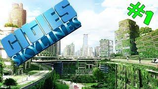 A cidade mais ecolÓgica do mundo // cities: skylines  nova dlc green cities - parte 1