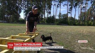 У лавах Державної служби з надзвичайних ситуацій служить єдина в Україні такса рятувальниця
