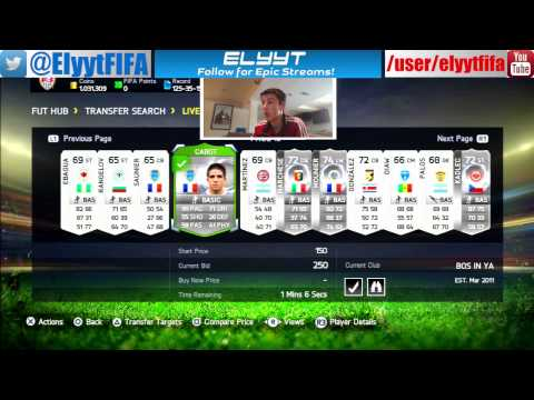 Silver Player Trading Method for 1k-30k Coins | FIFA 15