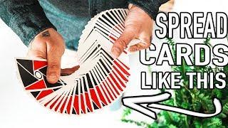 LEARN TO SPREAD CARDS LIKE A PRO!! - TUTORIAL (Lepaul Spread & Giant
