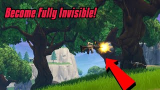 Become Fully Invisible In Fortnite (In Public) Fortnite Glitches Season 7 2019