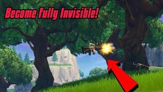 Devenir entièrement invisible dans Fortnite (En public) Fortnite Glitches Saison 7 2019