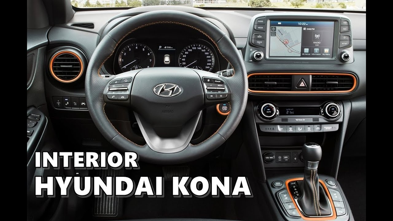 2018 hyundai kona interior. plain interior 2018 hyundai kona interior  detailed look in hyundai kona interior a