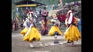 Vajra Dance in Bhutan 2010 不丹佛學院 金剛舞