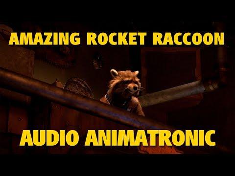 Rocket Raccoon in Guardians of the Galaxy - Mission: BREAKOUT! | Disneyland