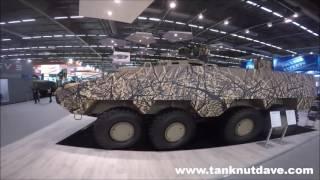 Video The Patria AMV XP 8X8 Fighting Vehicle download MP3, 3GP, MP4, WEBM, AVI, FLV Agustus 2018