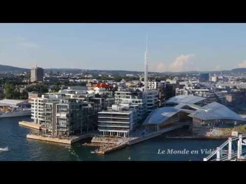 Port d'Oslo , Norvège (ULTRA 4K)