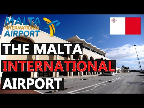 MALTA INTERNATIONAL AIRPORT   Terminal Review