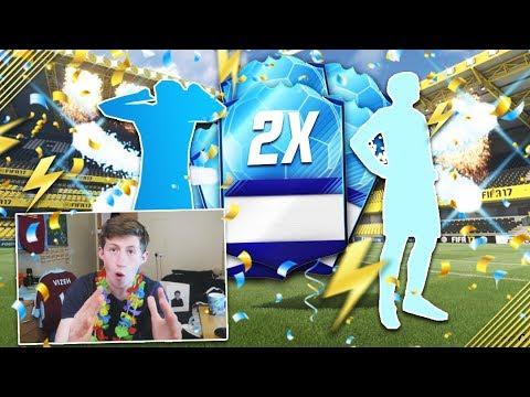 OPENING 2 GUARANTEED TOTGS PACKS!! - FIFA 17 TOTT DKT PACK OPENING