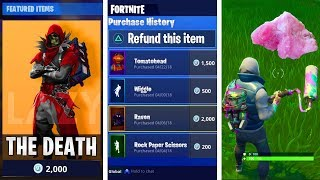 "NEW UPDATE COMING SOON! -Refund, new skins, challenges & Mappi changes?! -""Fortnite Suomi"""