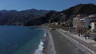 Pasquetta, il drone sulla costiera Amalfitana: nessun assembramento, ma la vista è uno spettacolo