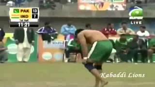 Pakistan vs India Kabaddi Match Punjab Youth Festival March 2014 P1