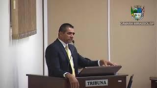 10ª Sessão Ordinária - Vereador Sérgio Leiteiro