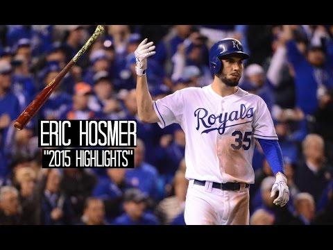 Eric Hosmer | 2015 Royals Highlights ᴴᴰ