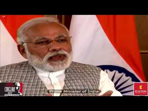 PM Shri Narendra Modi at India Today Conclave 2017