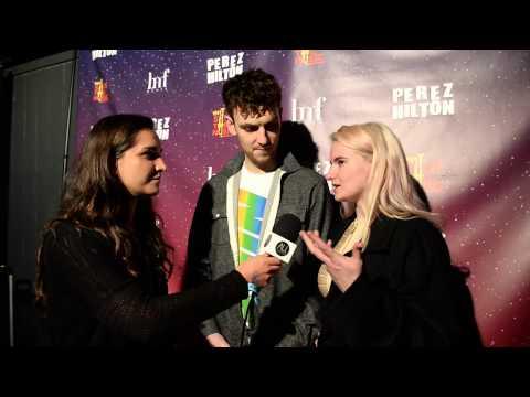 Clean Bandit: Interview at Perez Hilton Party SXSW 2015
