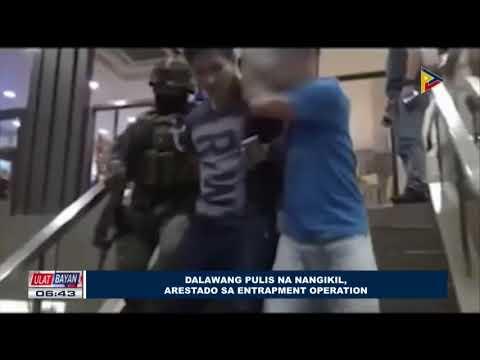 Dalawang pulis na nangikil, arestado sa Entrapment Operation