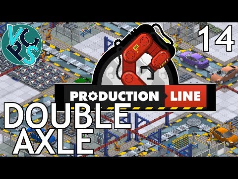 Production Line EP14 - Double Axel - Alpha 1.43 Manufacturing Tycoon Gameplay