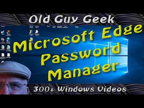 Windows 10 Anniversary Update - LastPass Password Manager for Edge