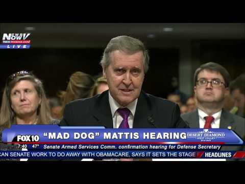"FULL VIDEO: Confirmation Hearing of James ""Mad Dog"" Mattis, Trump's Pick for Secretary of Defense"