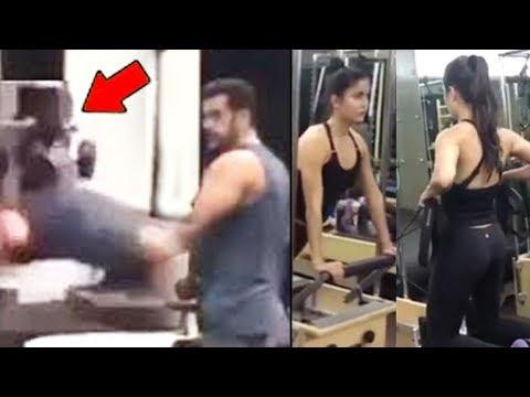 Salman Khan & Katrina Kaif's HARD Workout...