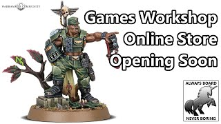 Games Workshop Reopens Warehouses, Web Store To Follow | Lockdown News