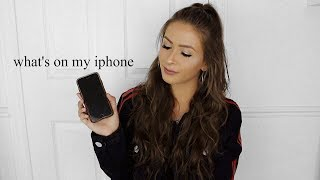 what's on my iphone | kylie aaliayh