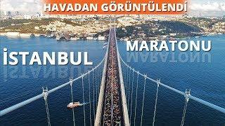 Vodafone 40. İstanbul Maratonu Havadan Görüntülendi