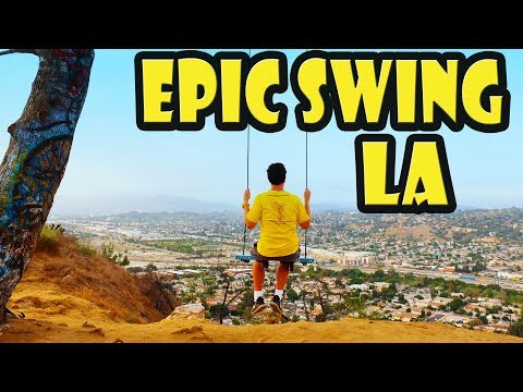 Best Instagram Spot In LA - Elysian Park Hidden Swing