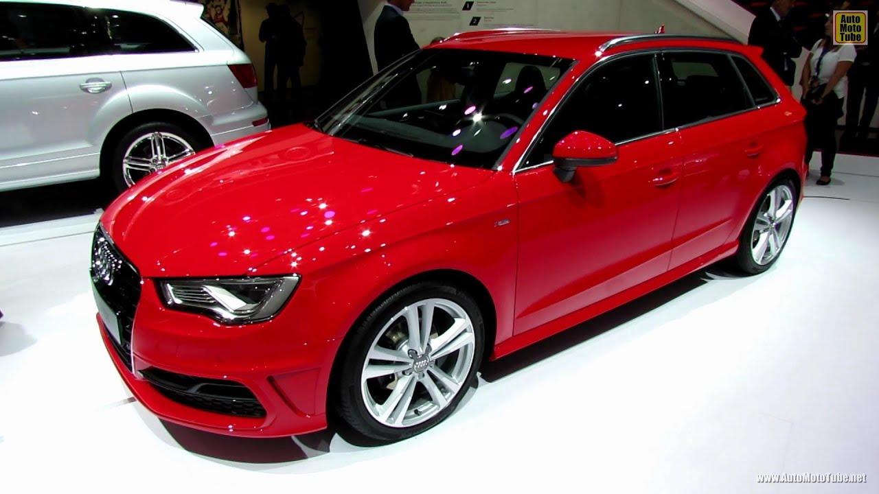 2013 Audi A3 20 TDI SLine  Exterior and Interior Walkaround
