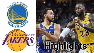 Warriors vs Lakers HIGHLIGHTS Full Game | NBA January 18