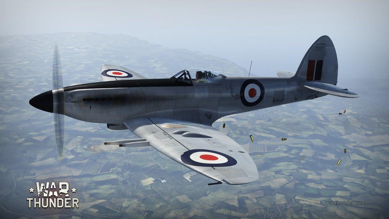 War Thunder The Spitfire F Mk 24 Youtube