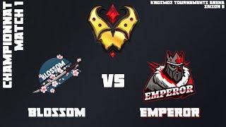 Gold League Championship #4 - Blossom vs Emperor - Match 1