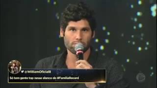Dudu Azevedo ganha presente duplo de Camila Rodrigues no Família Record