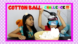 COTTON BALL CHALLENGE♥ For Kids with Keira VS Charma Challenge
