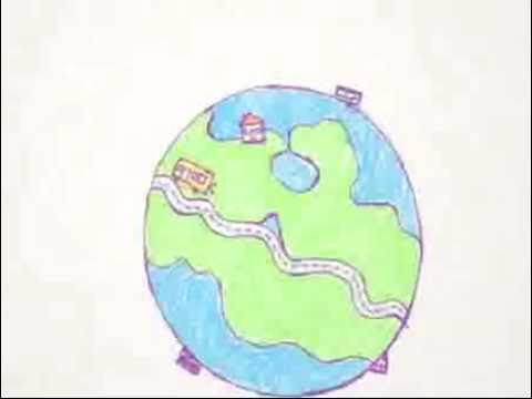 Joint UITP/UNEP campaign 'The voice of reason (Aged 6)' - The world is your home. Look after it.