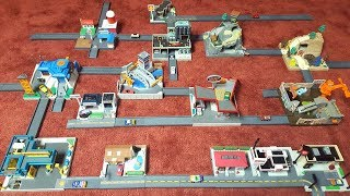 Micro Machines Hiways & Byways Collection with Street Corners City by Galoob Toys