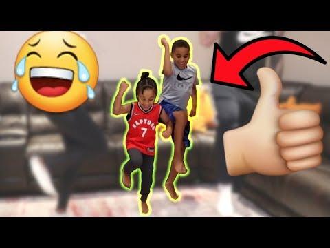 Shoot Dance Challenge (FUNNY) FamousTubeKIDS