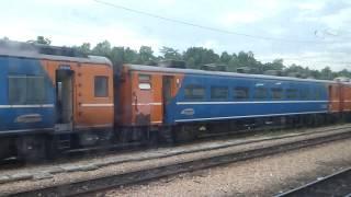 マレー鉄道 元JR14系クンパス・バル駅留置 Malaysian Railway JR 14 Series seating class coaches