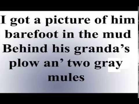 Rodney Atkins - My old man [Lyrics Video]