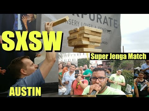 Emcee for Comedy Central at SXSW
