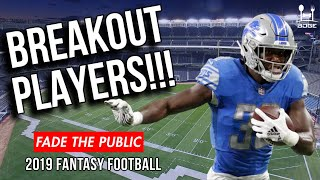 BREAKOUT Players for 2019 Fantasy Football