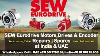 SEW Eurodrive Servo Motor Repairs INDIA / UAE - Encoder Alignment Adjust Connect Installation HOW
