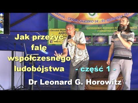 Jak Przeżyć Falę Współczesnego Ludobójstwa, Część 1 - Dr Leonard G. Horowitz