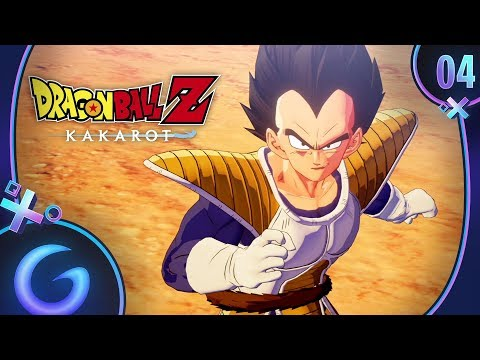 DRAGON BALL Z KAKAROT FR #4 : Son Goku contre Vegeta !