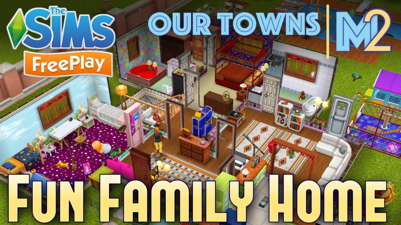 Sims FreePlay - Fun Family Home (Original House Design)