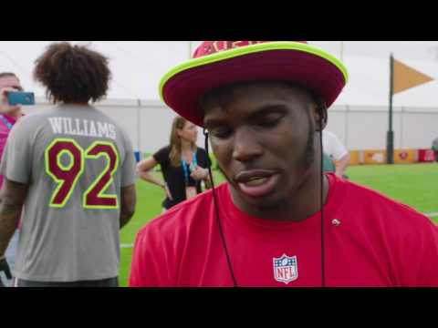 Tyreek Hill honored to make Pro Bowl in rookie season